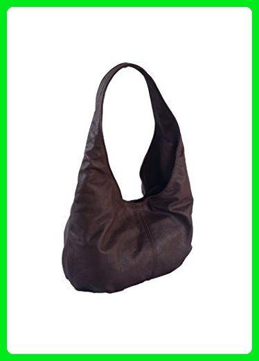 2160c9739be4 Fgalaze Brown Leather Hobo Bag, Everyday Slouchy Handbag, Handmade ...