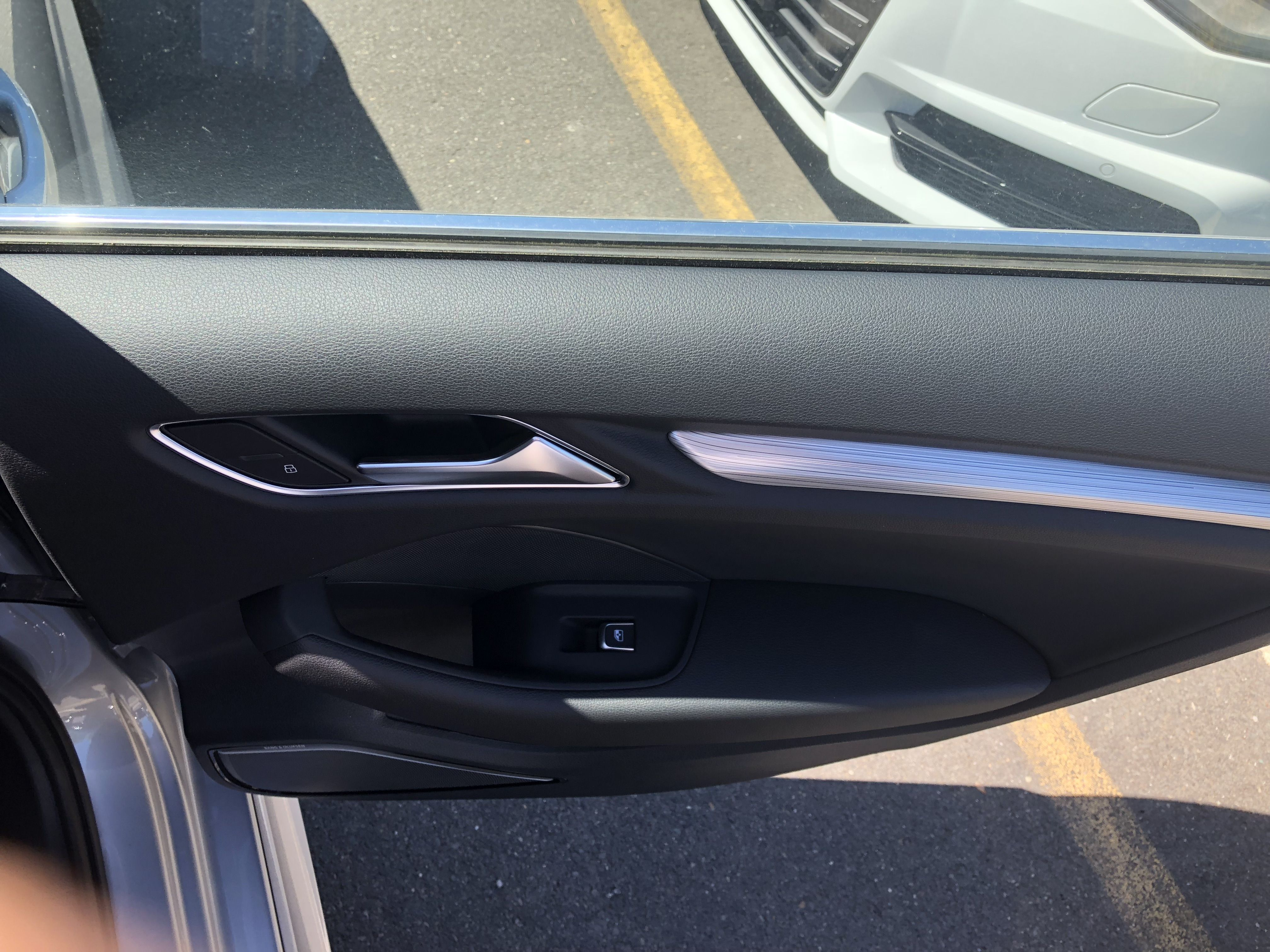 View Of The Passenger Door On The 2018 Audi A3