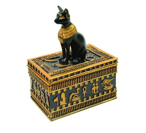 Egyptian jewelry box Wish list Pinterest Egyptian jewelry and