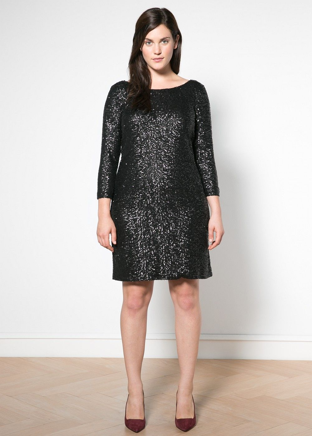 Sequined dress Plus sizes