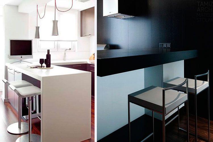 Cocinas americanas pequeas free consejos para organizar - Cocinas americanas minimalistas ...