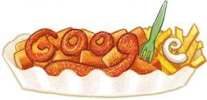 Heute gibt es Currywurst bei Google, denn heute feiern wird den 100. Geburtstag von der Erfinderin der Currywurst - Herta Heuwer! Guten Hunger!