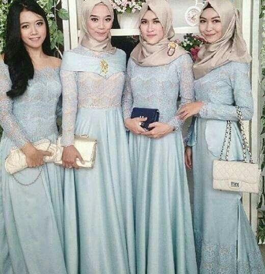 Baju muslim pesta | Women\'s fashion | Pinterest | Muslim, Kebaya and ...