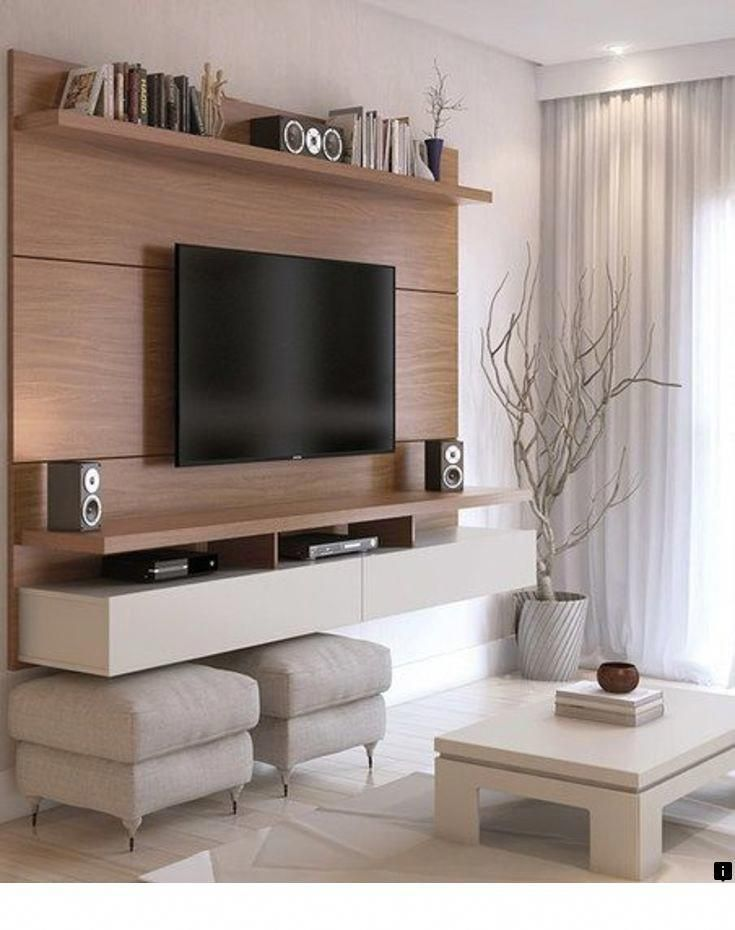 Living Room Design With Led Tv: 9+ Best TV Wall Mount Ideas For Living Room