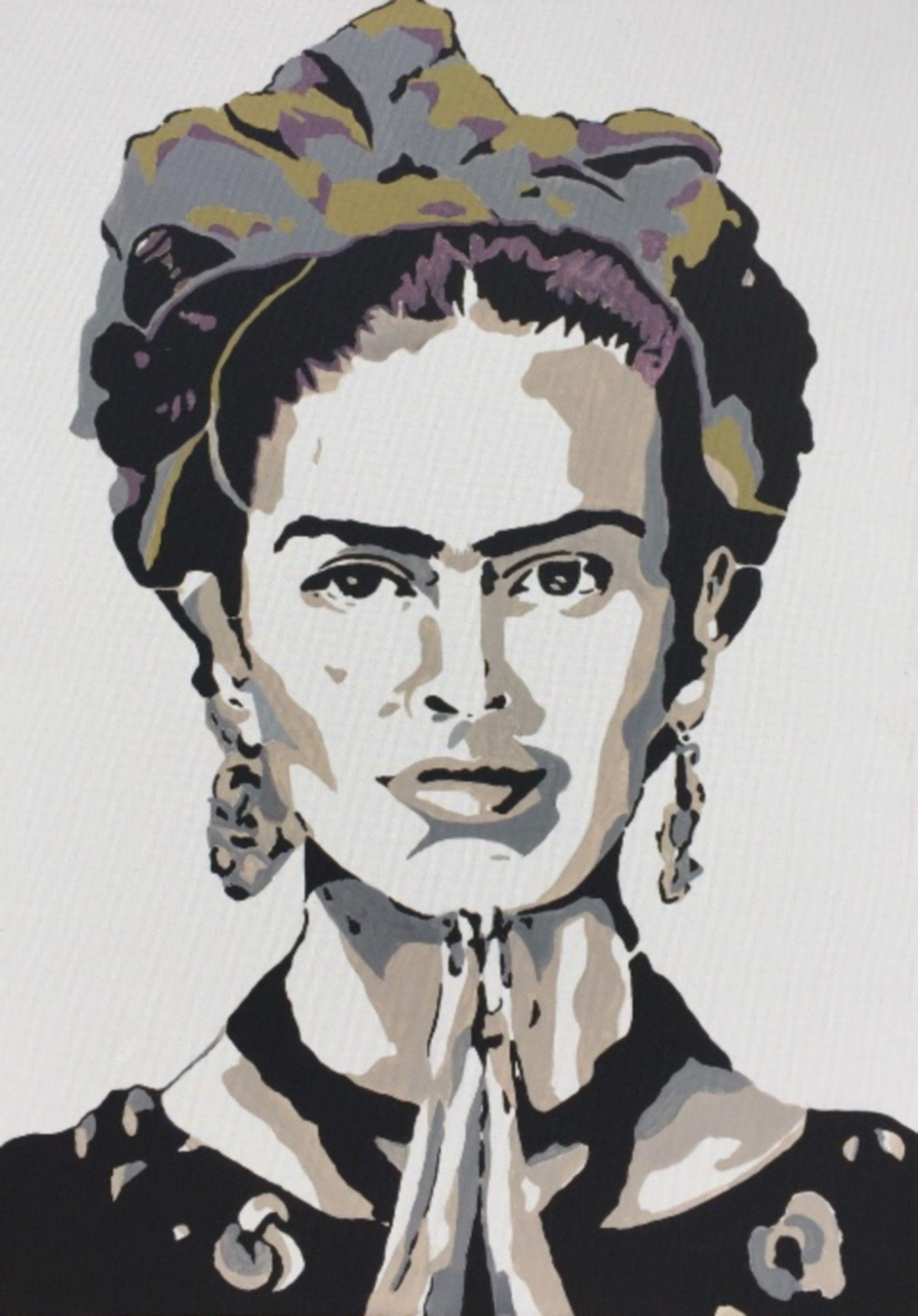 Quadro Moderno Dipinto A Mano.Frida Kahlo Artista Quadro Moderno Dipinto A Mano Style Pop Art Quadri Pittura Acrilico Su Tela Canvas Ritratti Artetribute Artepopart Pop Art Pittura Acrilica Quadri Pop Art