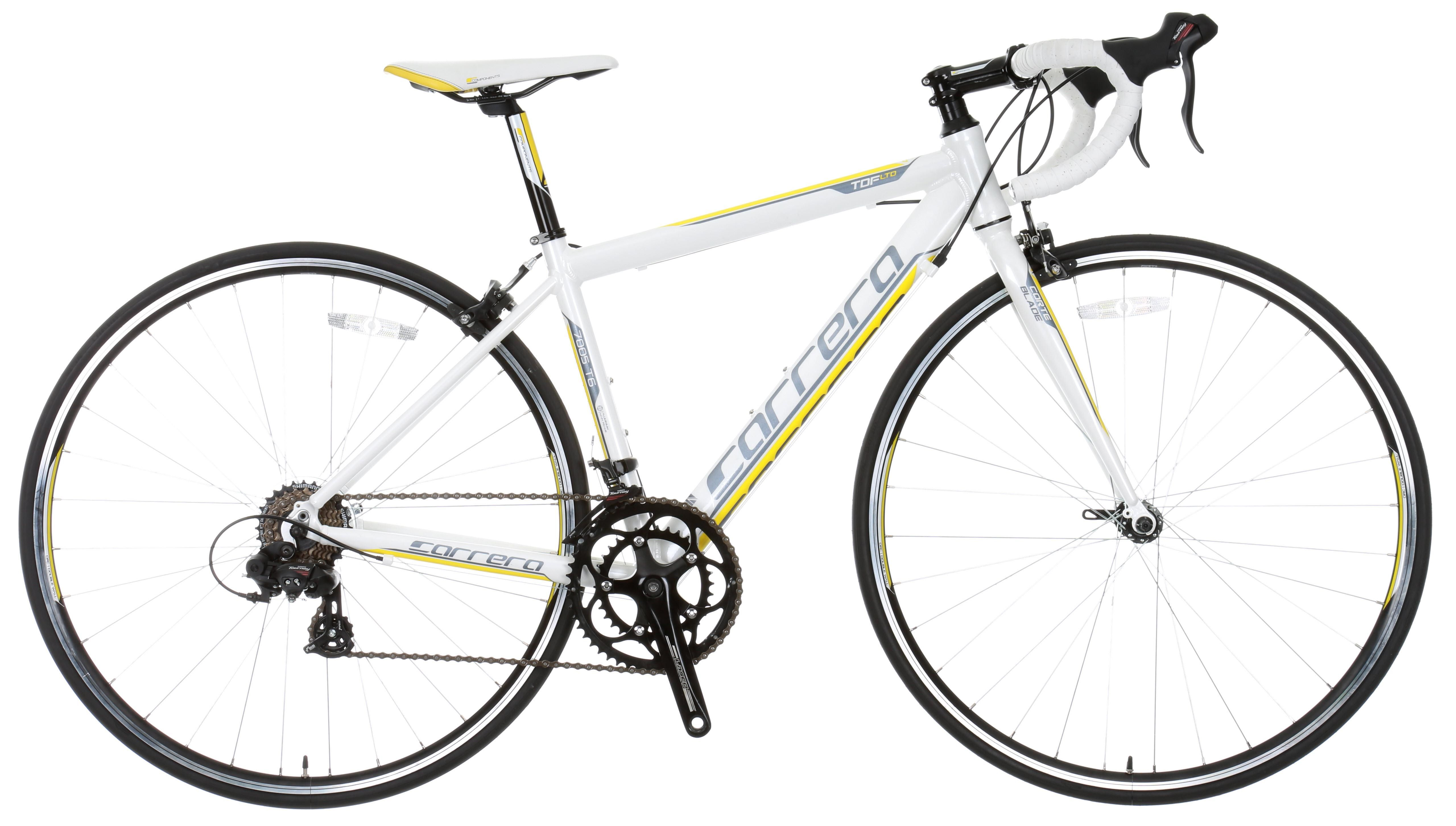 Road bikes don`t get much better than the Carrera TDF Limited
