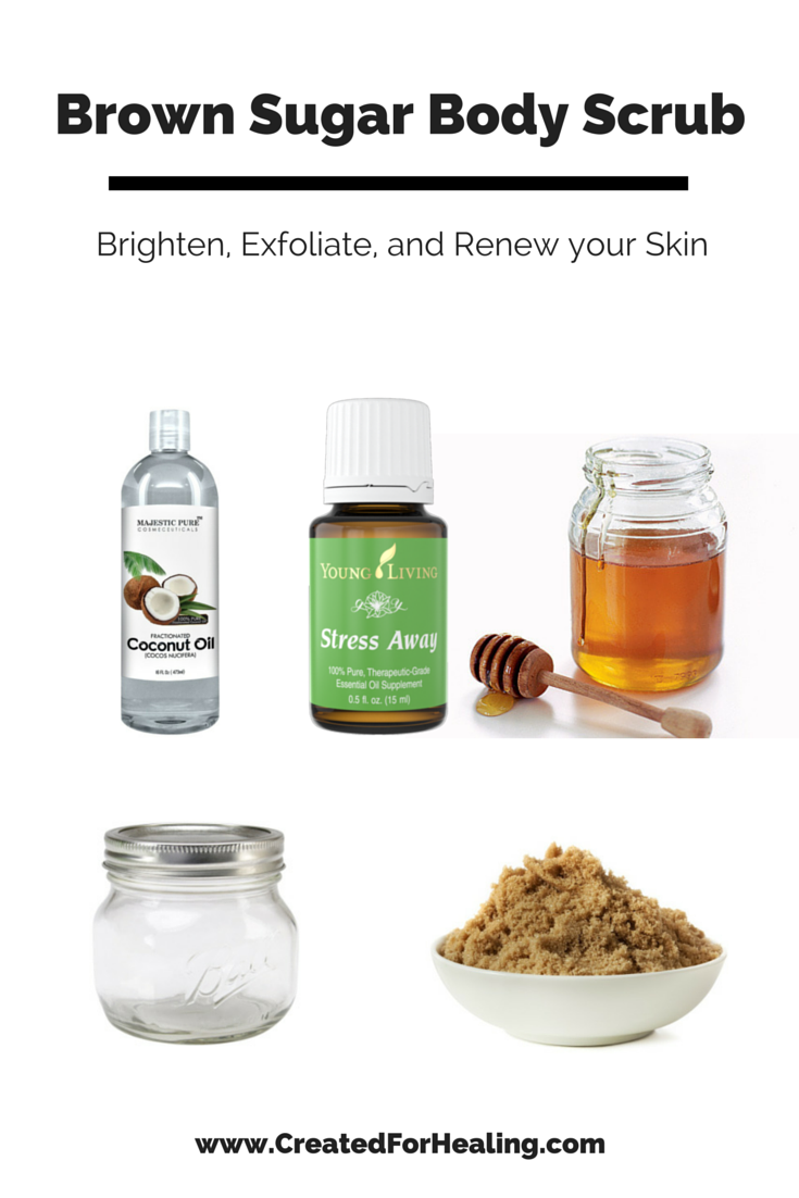 #DIY Brown Sugar Body Scrub & #essentialoils