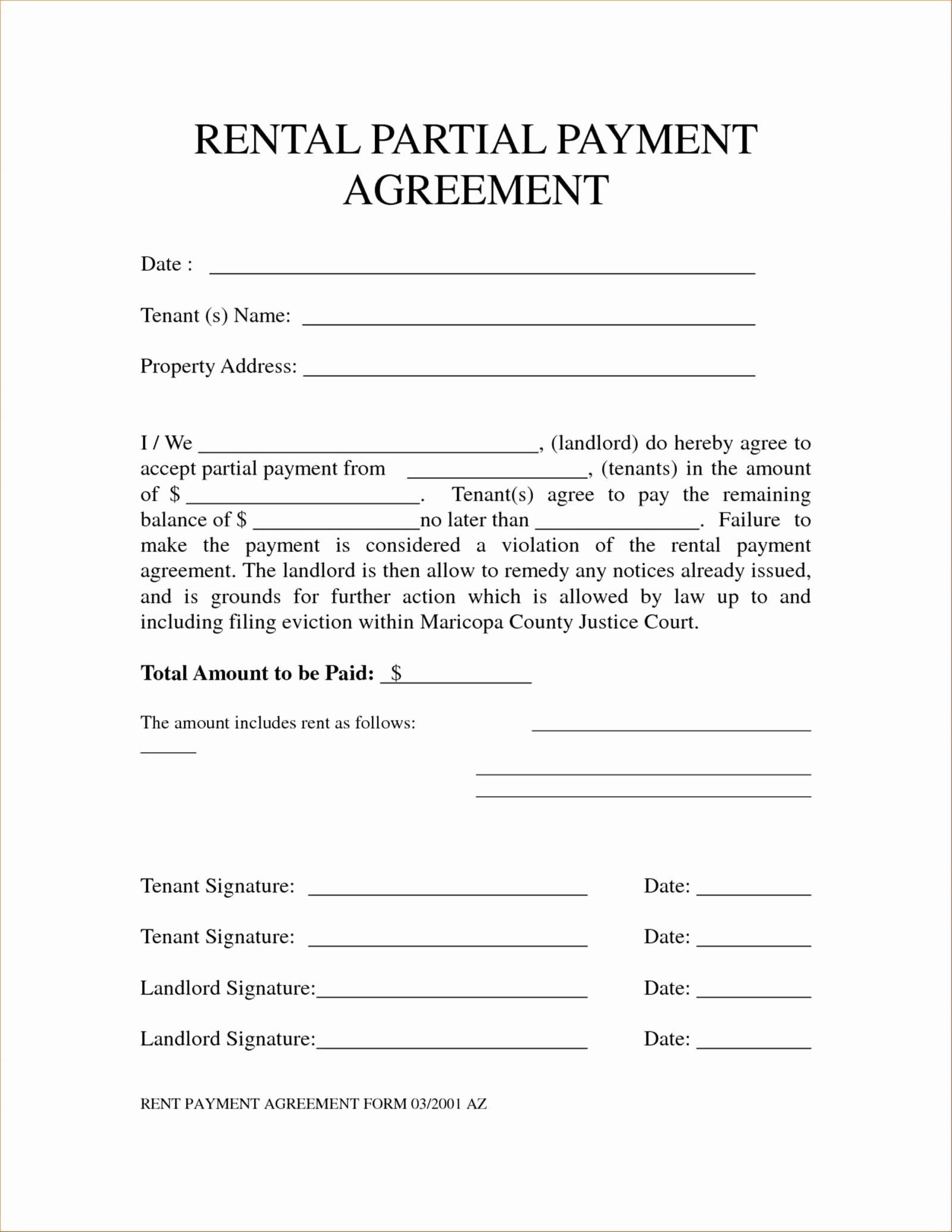 Payment Agreement Template Payment Agreement Teacher Resume