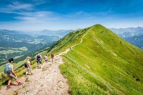 Oberstdorf: Zum Wandern und Spazieren ideale Wanderwege