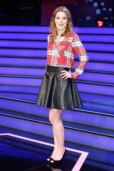Jeannine Michaelsen Photostream Fashion Leather Skirt Leather Fashion