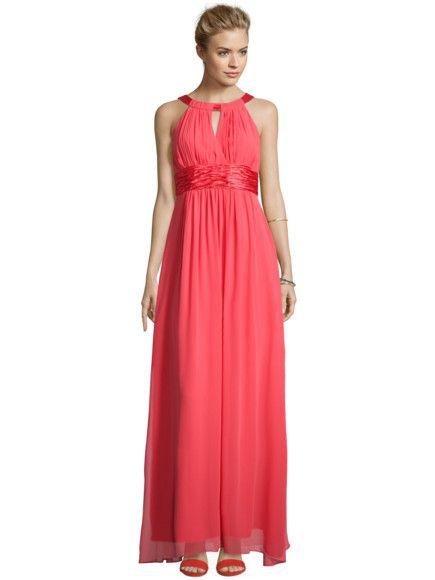 JAKES-COCKTAIL Abendkleid mit Collierkragen in Rot online ...