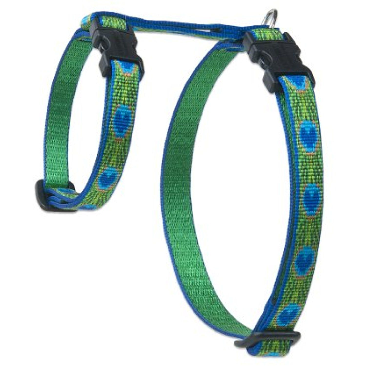 Lupinepet Originals 1 2 Tail Feathers 12 20 H Style Harness For