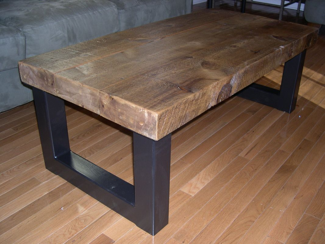BurntRock Furniture Co Makes Original Tables Shelves Mirrors Etc - Reclaimed wood coffee table chicago