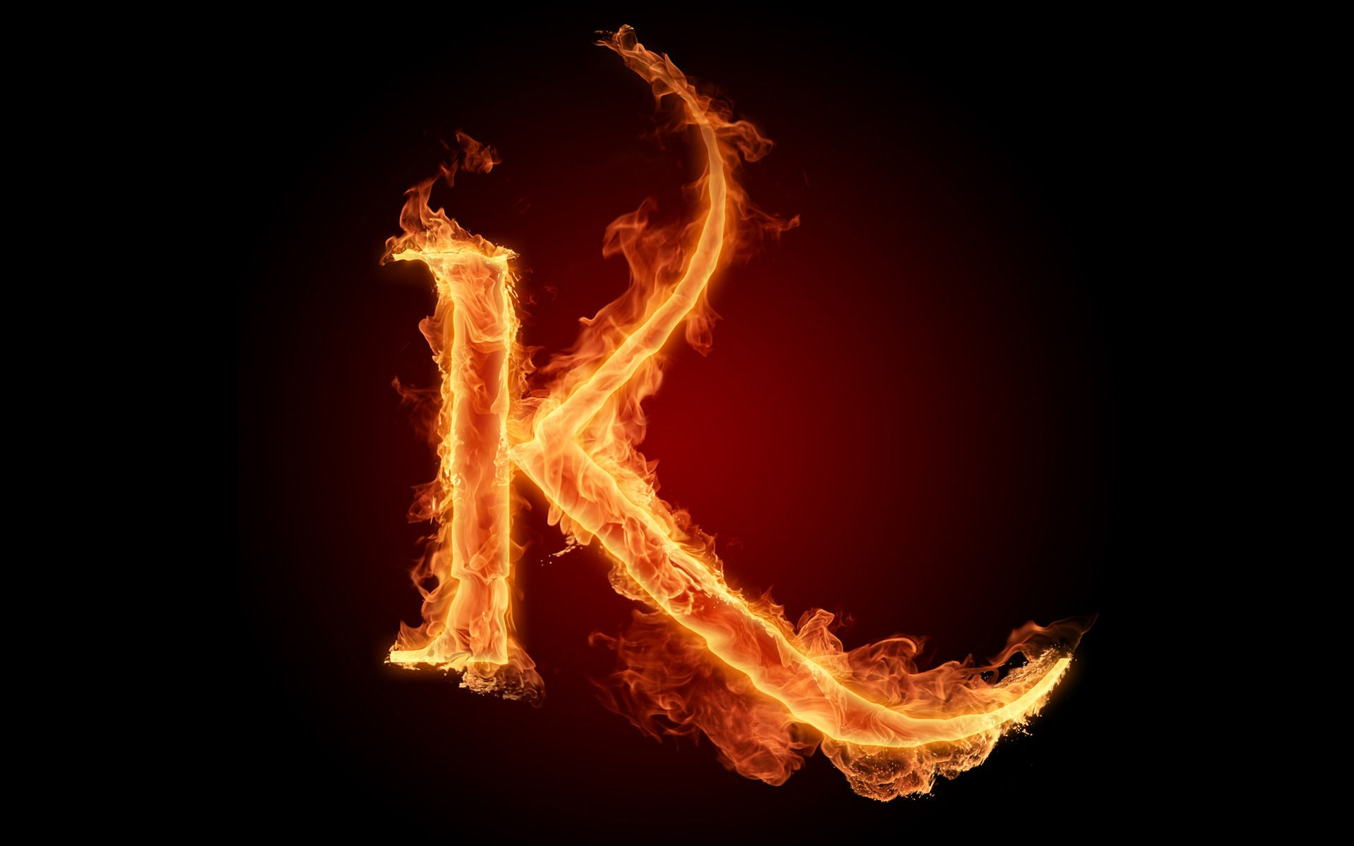The Fiery English Alphabet Picture K