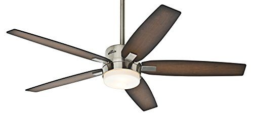 Sleek blades and a brushed nickel finish give the hunter windemere founded in hunter fan company is the worlds original ceiling fan manufacturer for 130 years hunter has led the ceiling fan industry aloadofball Gallery