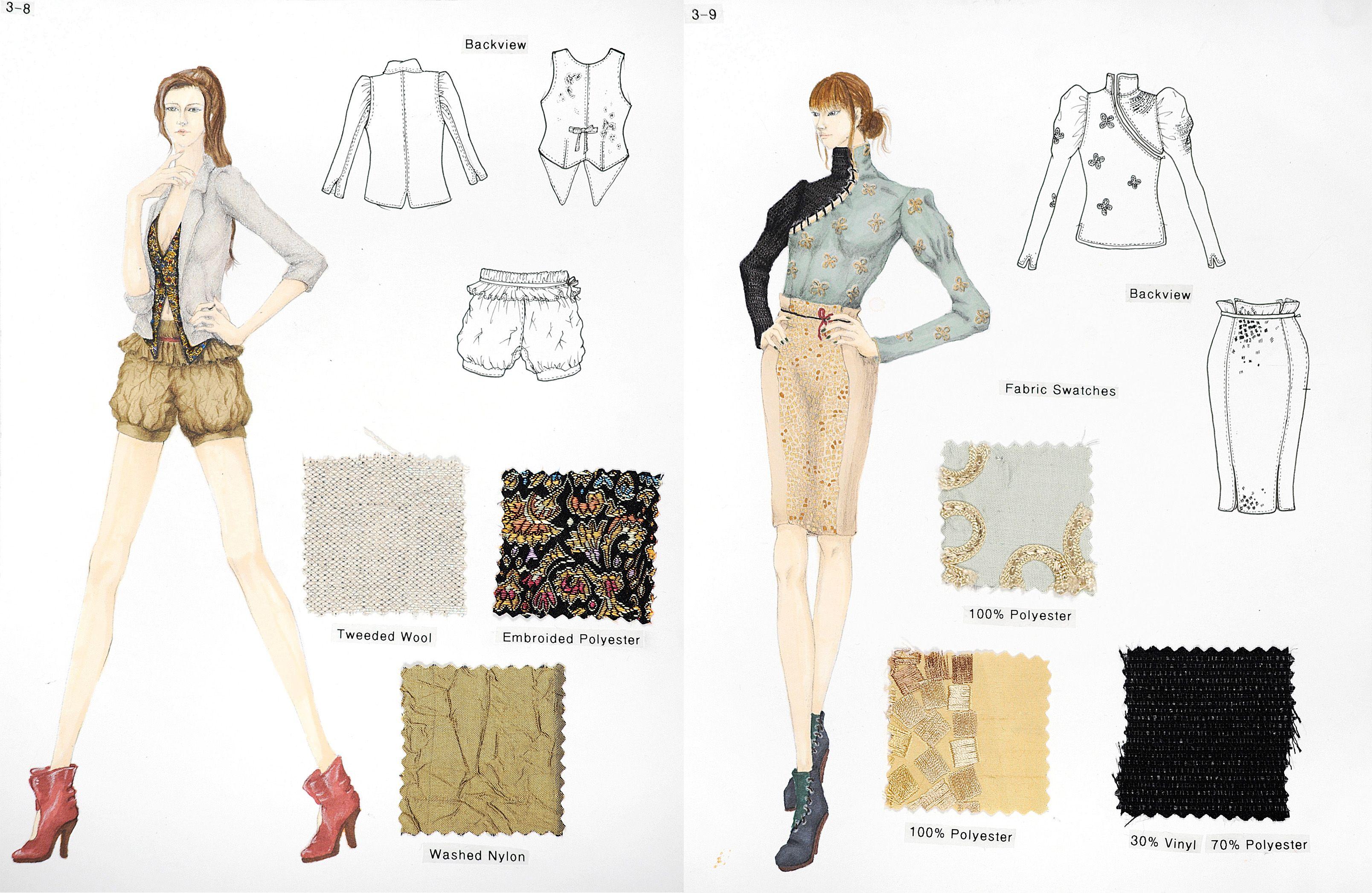 Image Result For Fashion Design Portfolios Examples Fashion Design Portfolio Portfolio Design Fashion Design Sketchbook