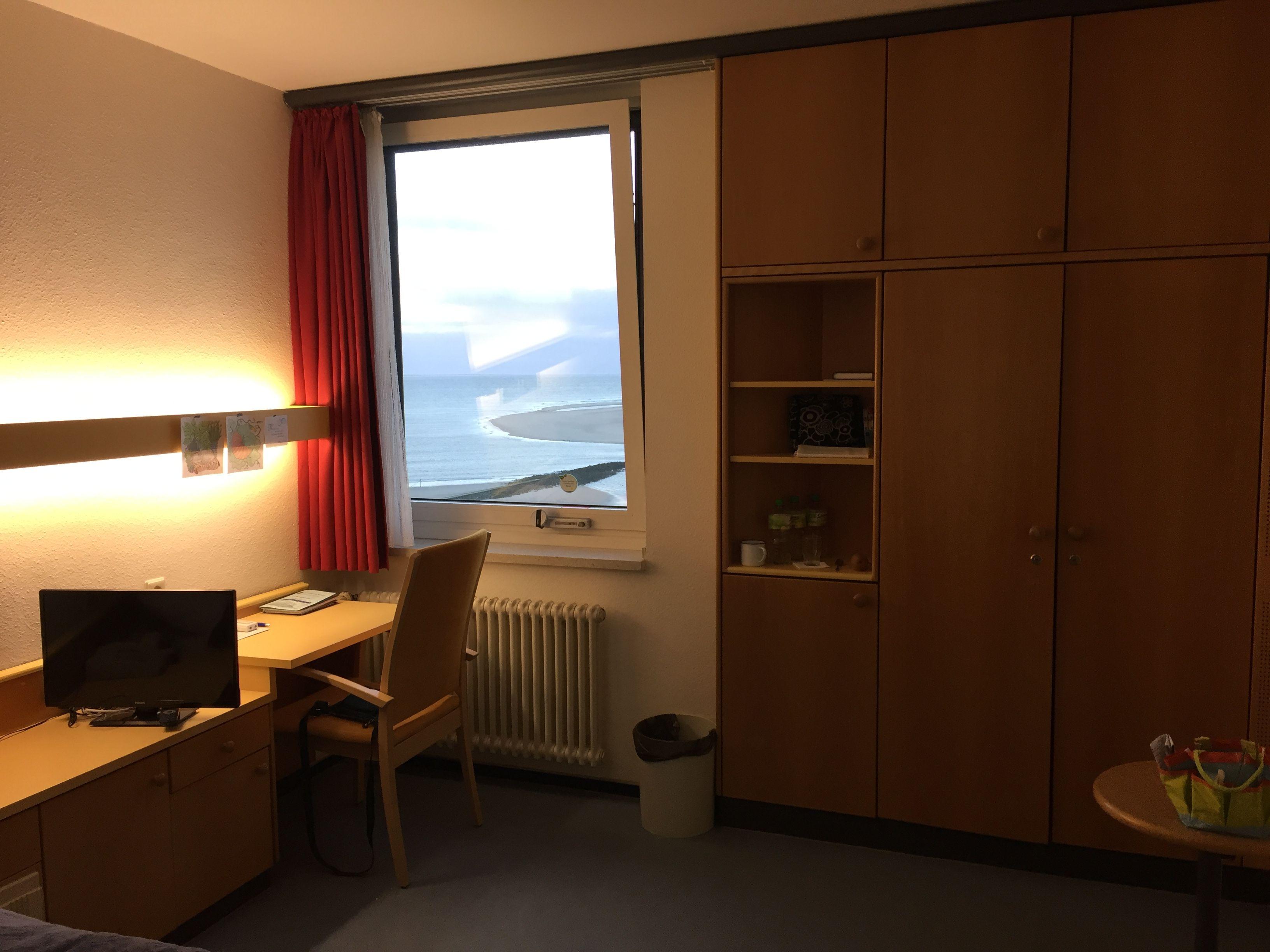 Zimmer in der Nordseeklinik | Borkum | Pinterest