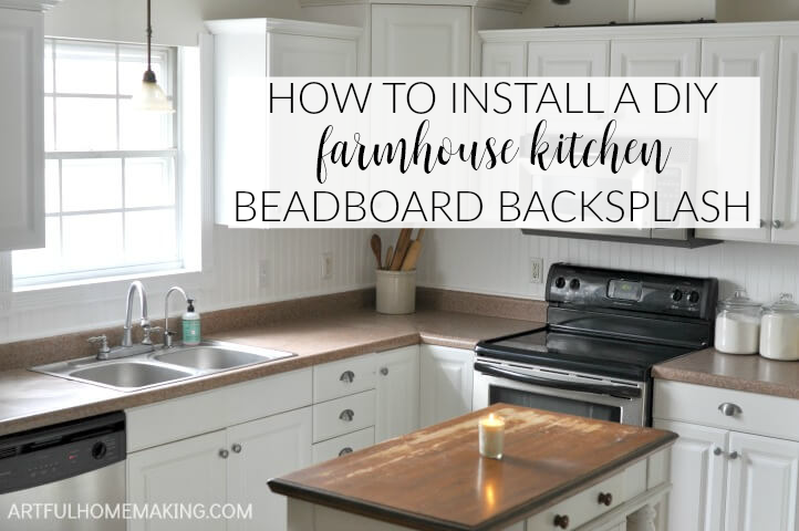 How To Install A Beadboard Kitchen Backsplash Kitchen Design