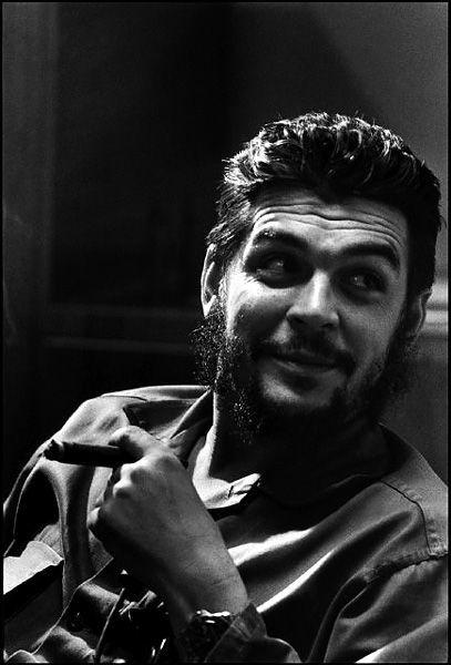 Che Guevara, Havana, Cuba, 1964 - Elliott Erwitt