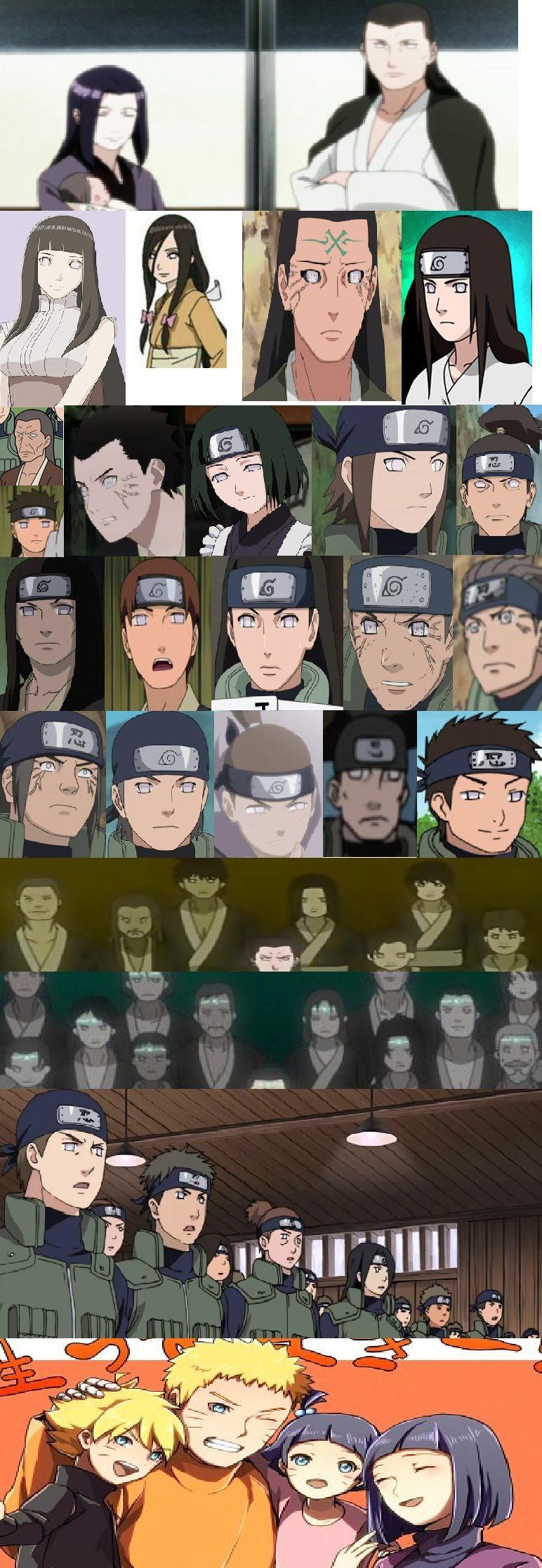 Hyuga Clan 日向一族 The Strogest Clan of Konoha-->Naruto DID say he would change the way of the Huga clan