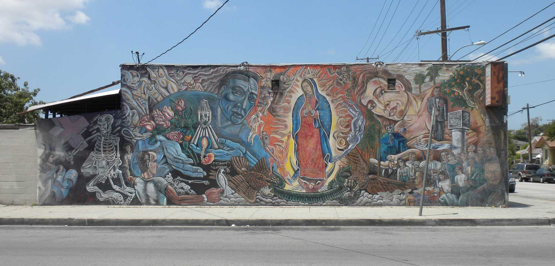Google Image Result For Http Www Thedirtfloor Com Wp Content Uploads 2010 05 Street Art Mural By Paul J Botell East Los Angeles Street Art Los Angeles Museum