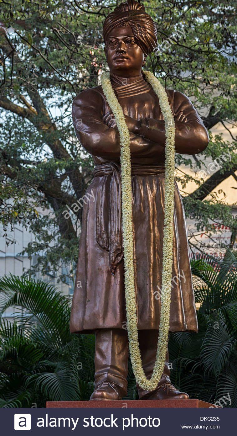 Download this stock image Closeup of Swami Vivekananda