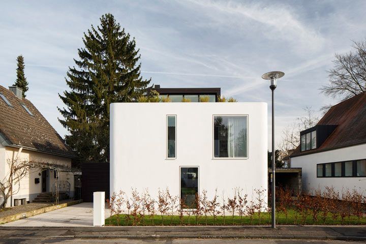 Runde Sache I Ein Haus Aus Holz Modern Und Naturlich Sugar Lake