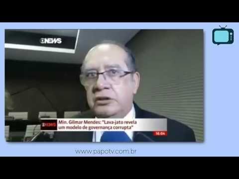 Assustadora declaração do ministro Gilmar Mendes a respeito da Lava-Jato - YouTube