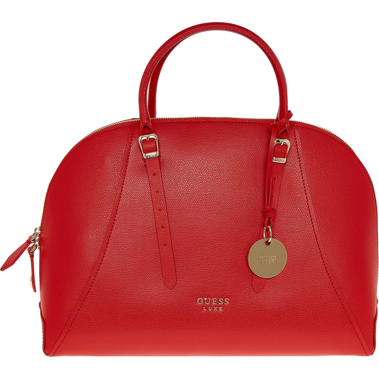 Guess\' Red Leather Tote Bag - TK Maxx |