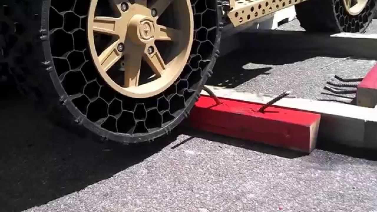 Terrain Armor Tires Won T Go Flat Armor Car Ride Cool Stuff