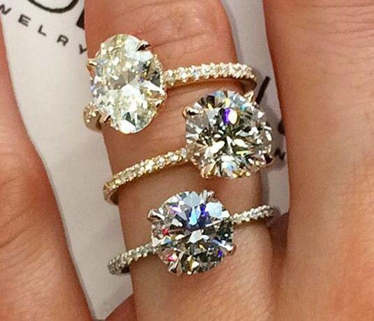Lauren B Jewelry & Diamonds- Oval one please!   Unique ...