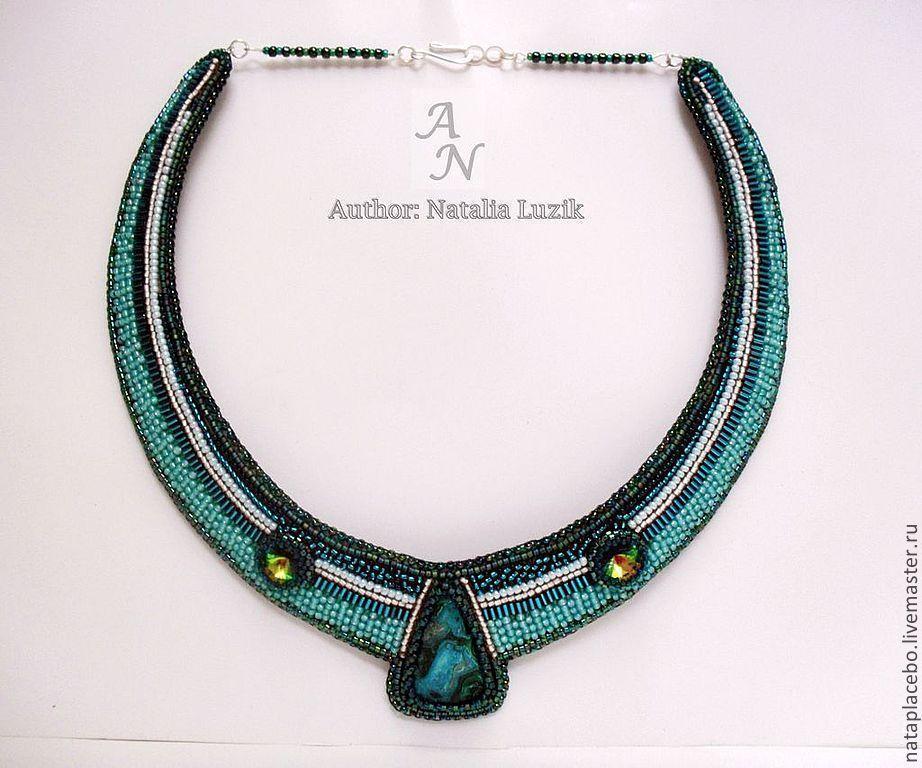 Ожерелье из бисера Кулон вышивка украшения - Google'da Ara