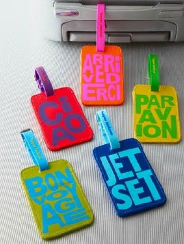 8 Cute Luggage Tags to Make Sure You Always Find Your Suitcase ...