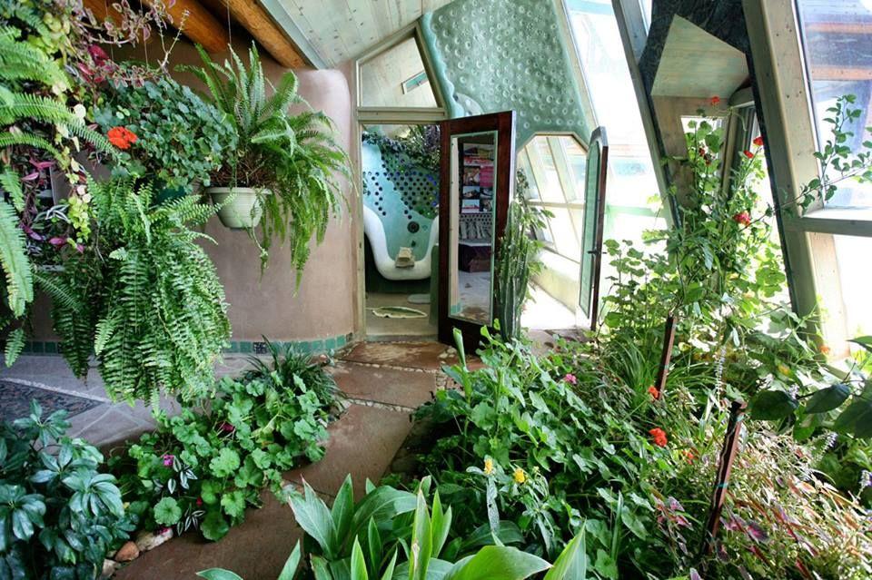 earthship sewage treatment natural building Pinterest