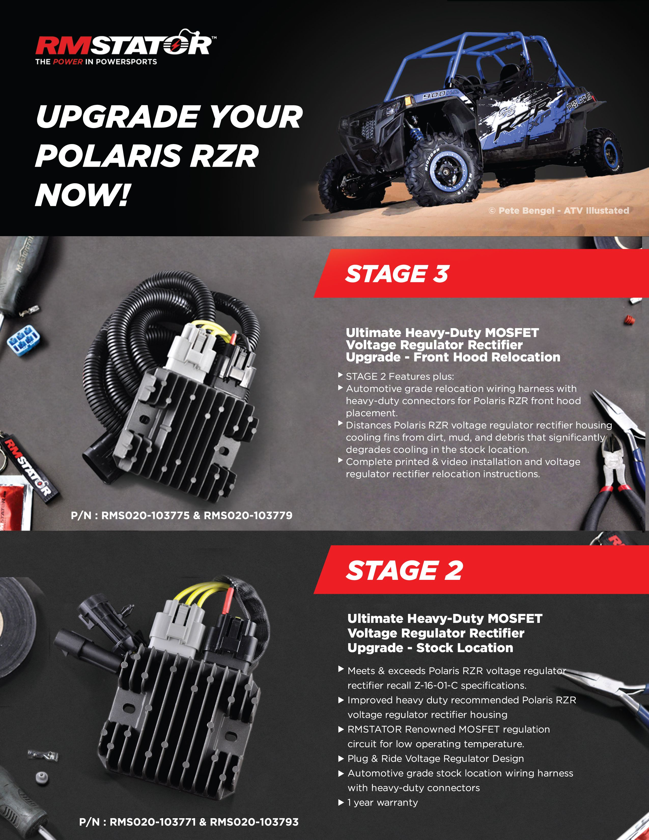 Pin By Moxie On Rm Stator Voltage Regulator Powersports Rzr