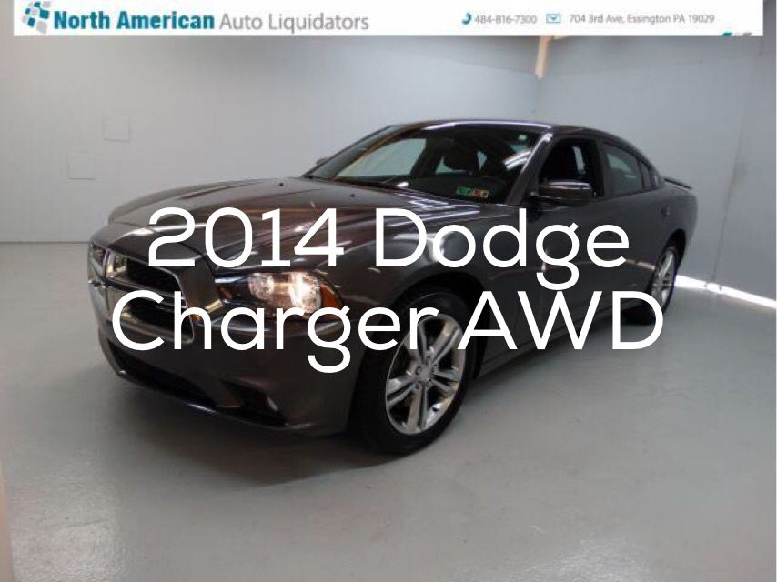 Car of the day 2014 Dodge Charger SXT AWD with 23,092 miles for $24,991