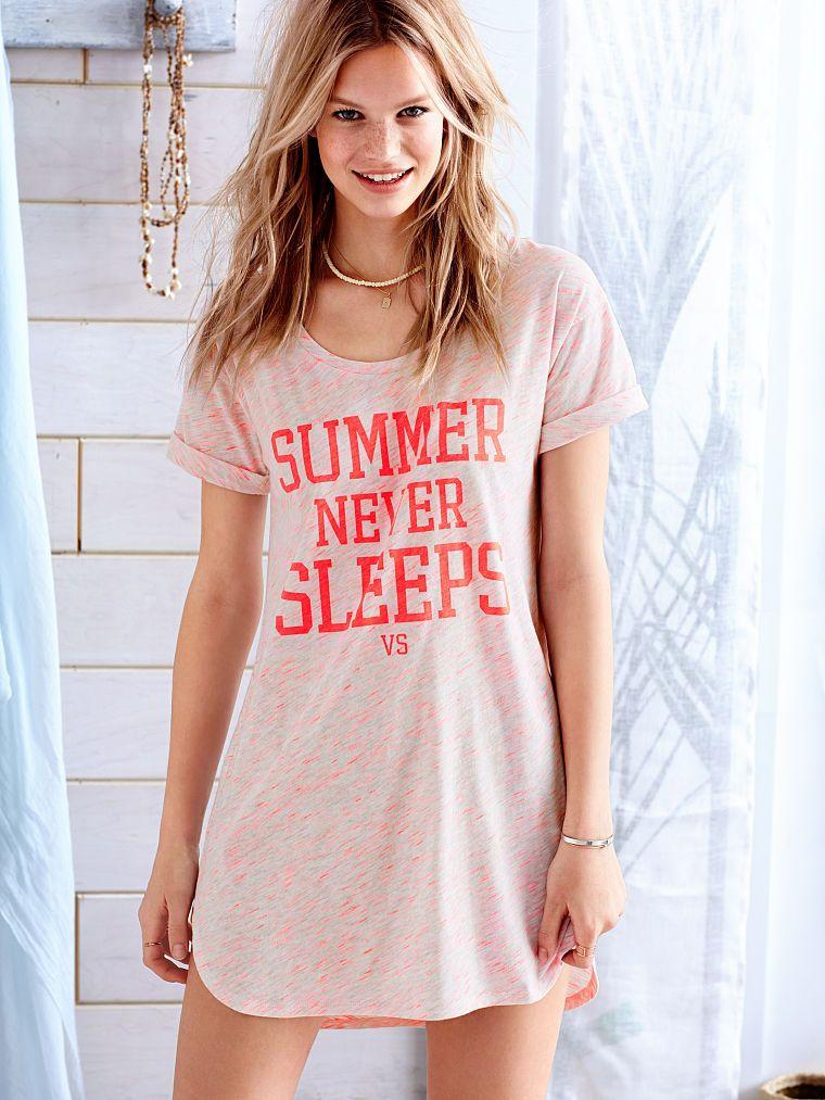 The Angel Sleep Tee by Victoria\'s Secret - Victoria\'s Secret | Mi ...