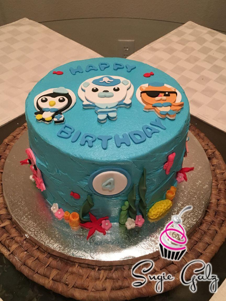 Octonauts Birthday Cake In Austin Texas