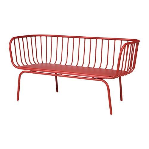 Brusen Canape 3 Places Exterieur Rouge Canape 3 Places Ikea Mobilier Exterieur Diy