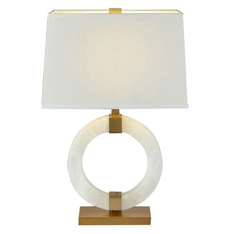 Contemporary Simple Table Lamp Special Dolomite Desk Light Lamp Table Lamp Energy Saving Bulbs