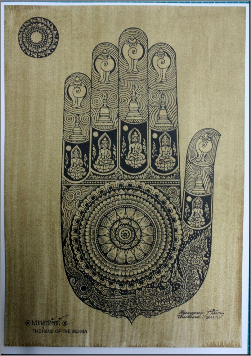 buddha's footprint - Google Search | Buddha art, Hand art ...