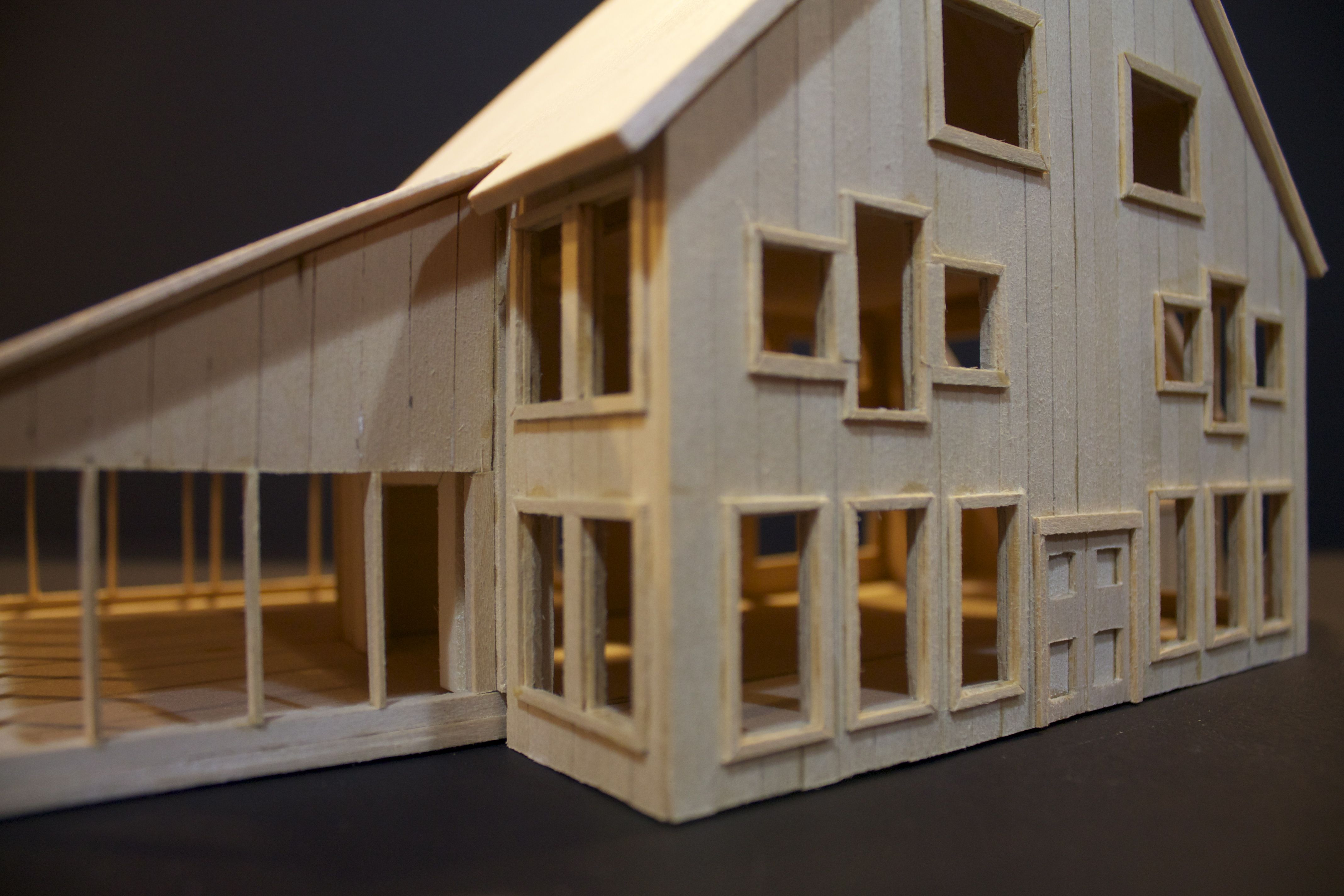 Pin By Cameron Ballantyne Smith On My Balsa Wood House Model Wood Crafts Diy House In The Woods Architecture