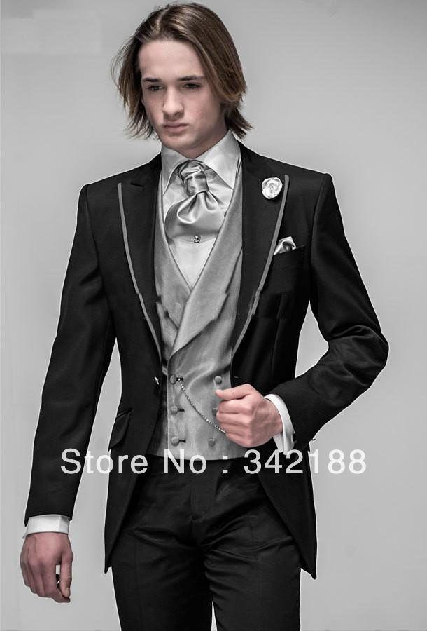 2014 Mens\' Tuxedo Suit $103.49 to buy | Wedding | Pinterest | Prom ...