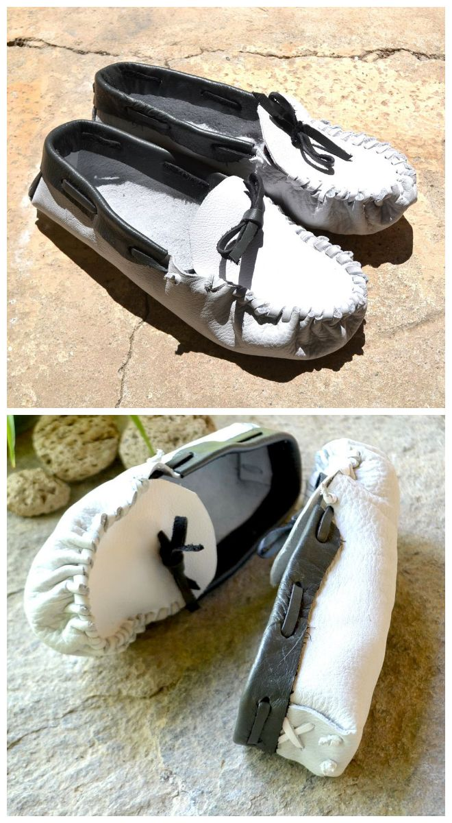 ○DIY MOCCASIN○ | Moccasins, Shoemaking and Craft