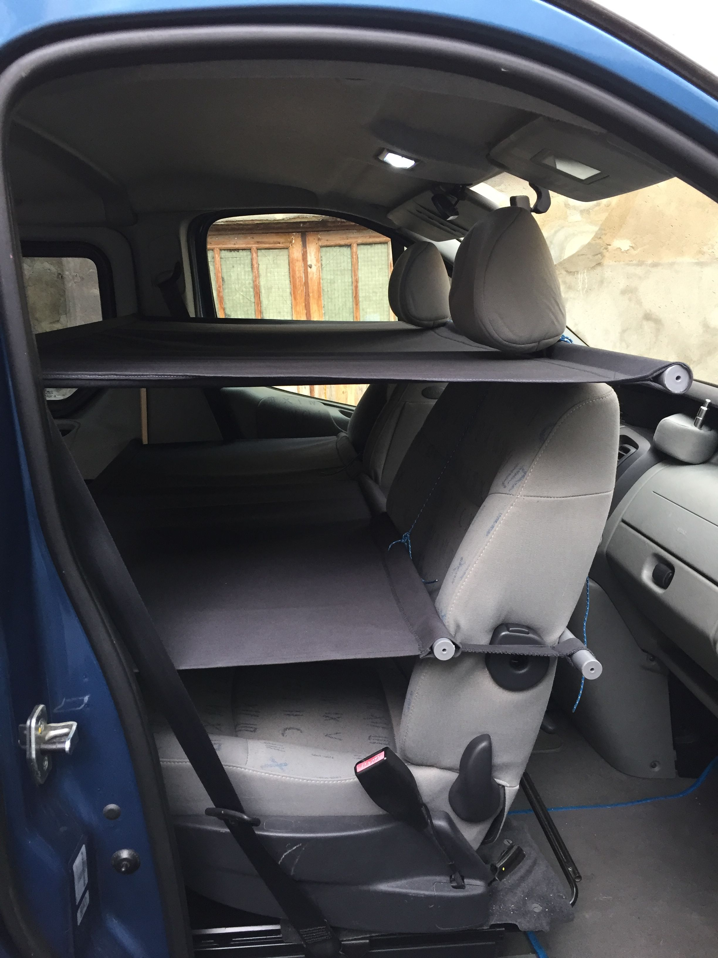 Diy Car Interior Design: Diy Cabbunk Renault Trafic Ikea Hacker