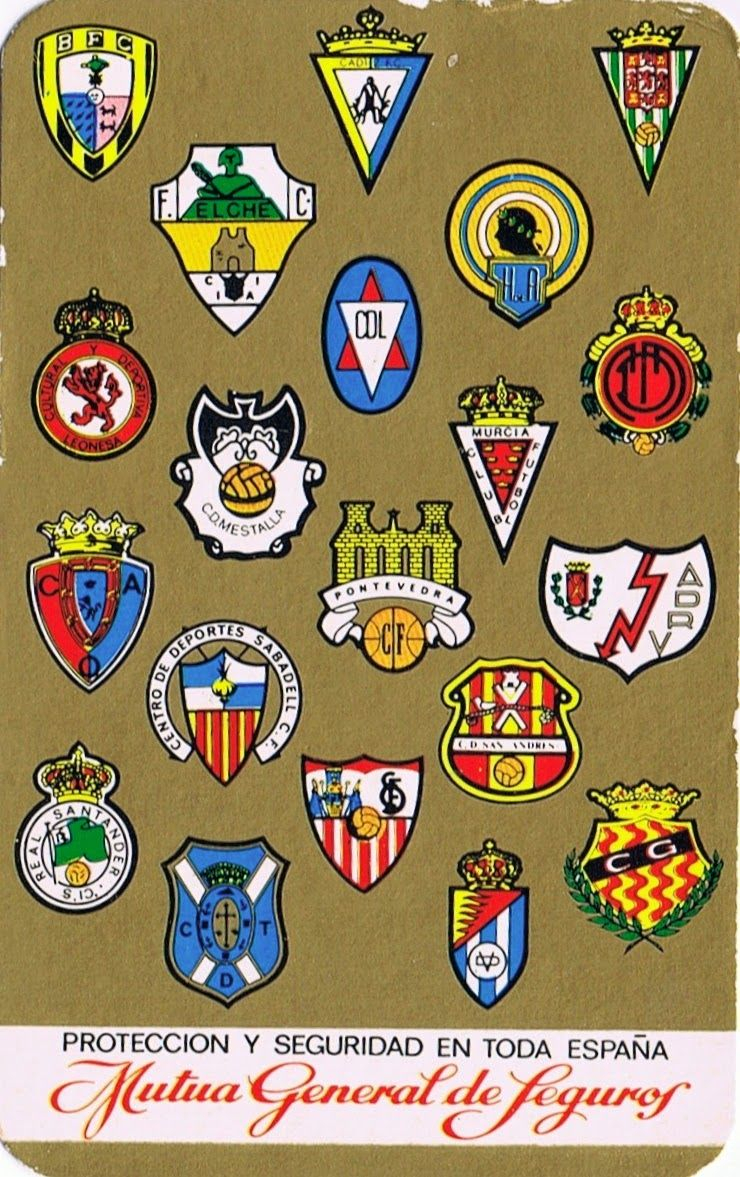 Calendario Liga Segunda.Calendario Liga Segunda Division 1972 73 Cromos Futbol Vintage