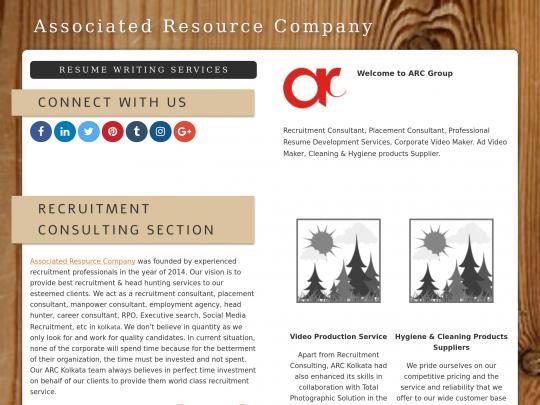 Recruitment Consultant Kolkata ARC Resume writing