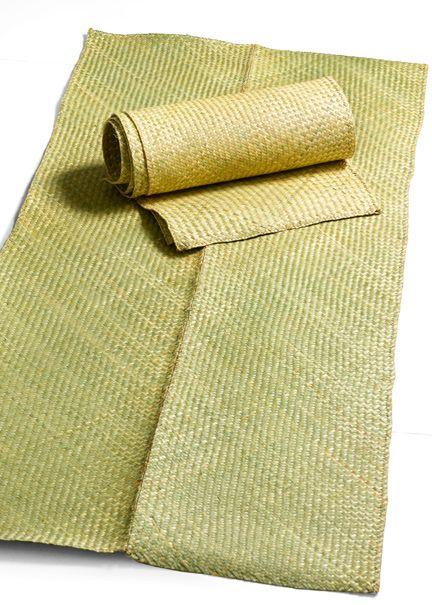 Woven Straw Mats Wholesale Decor Green Straws Burlap Bag