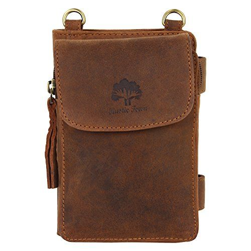 Vintage Travel Wallet Leather Pouch Crossbody Bag for Men Women Cross body Travel Kit ** For more information, visit image link. Note:It is Affiliate Link to Amazon.