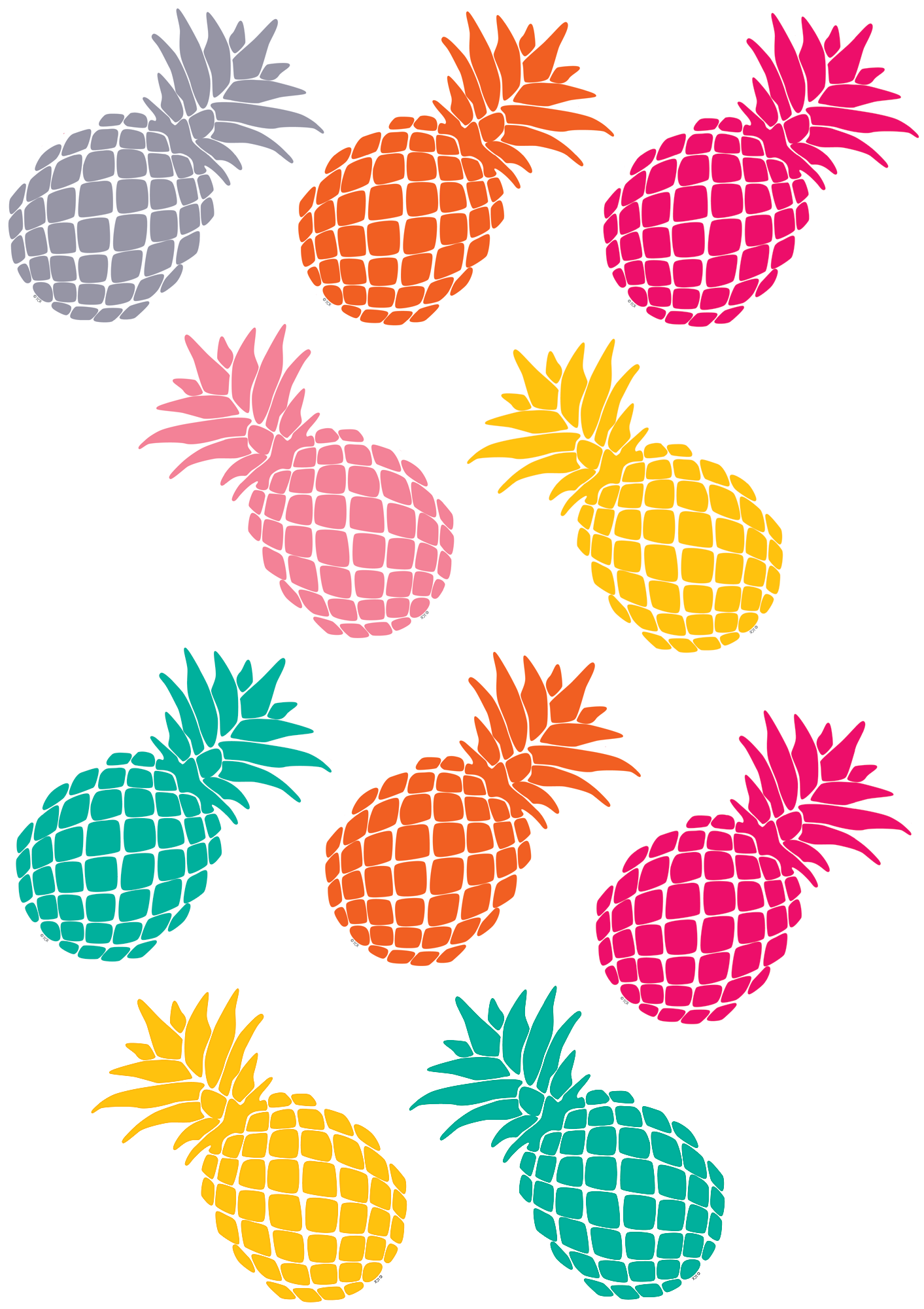 Tropical Punch Pineapples Accents Tropical Punch Pineapple Accents Pineapple Theme